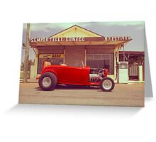 Red 32 Ford Hot Rod Greeting Card