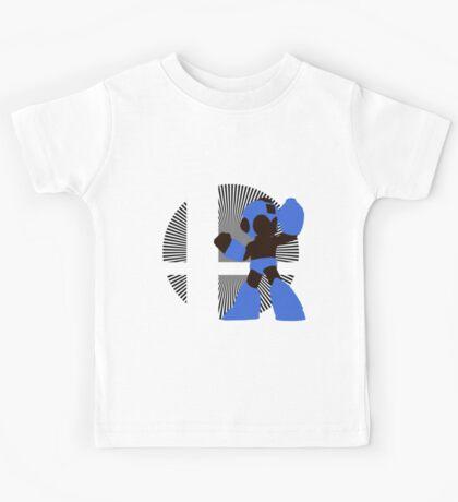 Mega Man - Sunset Shores Kids Tee