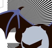 Meta Knight - Sunset Shores Sticker