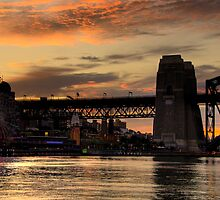 Time - Moods Of A City # 10 - The HDR Series - Sydney Harbour, Sydney Australia by Philip Johnson