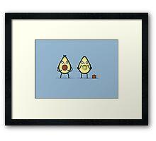 Avocado baby Framed Print