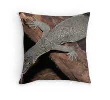 Varanus Indicus Throw Pillow