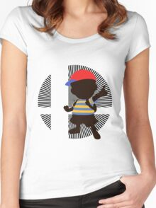 Ness - Sunset Shores Women's Fitted Scoop T-Shirt