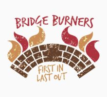 Bridge BURNERS DISTRESSED VERSION first in last out  Kids Clothes