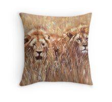 Serengeti Companions Throw Pillow
