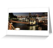 Brisbane CIty Cat - Southbank Greeting Card
