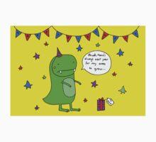 Dinosaur Dave's Birthday One Piece - Short Sleeve