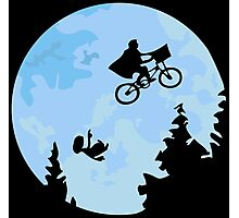 E.T. The Extraterrestrial Falling Photographic Print