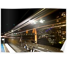 Milson's Point Station Poster