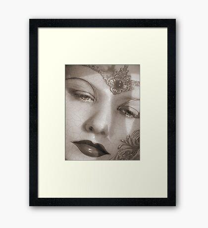 Mask II  Framed Print