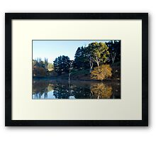 Tranquility in the Adelaide Hills Framed Print