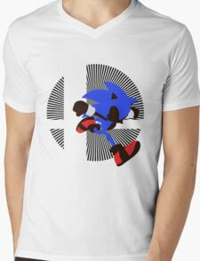 Sonic - Sunset Shores Mens V-Neck T-Shirt