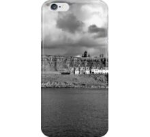 The Imposing East Cliff, Whitby iPhone Case/Skin