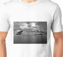 The Imposing East Cliff, Whitby Unisex T-Shirt