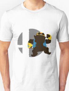 Wario (Biker) - Sunset Shores T-Shirt
