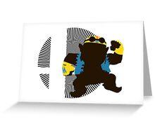 Wario (Biker) - Sunset Shores Greeting Card