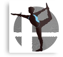 Wii Fit Trainer (Male) - Sunset Shores Metal Print