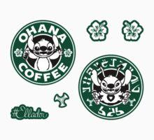 Stitch Coffee Mini Sticker Pack by Ellador