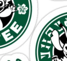 Stitch Coffee Mini Sticker Pack Sticker