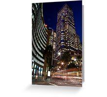 Chiefley Square Sydney 2 Greeting Card