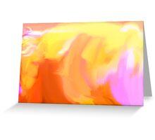 Yello Tulip Greeting Card