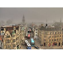Busy Foggy Morning  Photographic Print