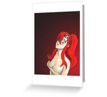 Yoko littner - Breather  Greeting Card