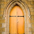 St Johns church door, Richmond, Tasmania by Elana Bailey