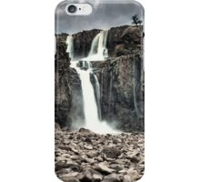 Iguazu Falls - From the Riverbed - No.2 iPhone Case/Skin