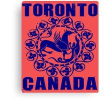 TORONTO, CANADA Canvas Print