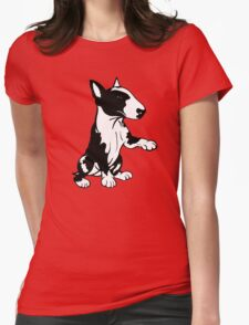 Coloured English Bull Terrier  Womens Fitted T-Shirt