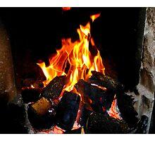 The Warmth Of An Irish Turf Fire Photographic Print