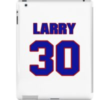 National football player Larry Moriarty jersey 30 iPad Case/Skin