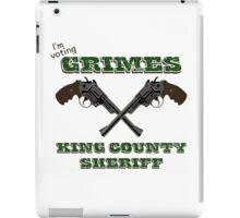 Vote Grimes iPad Case/Skin