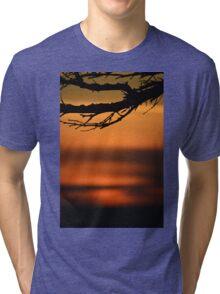 Ocean Sunset Tri-blend T-Shirt