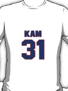 National football player Kam Chancellor jersey 31 T-Shirt