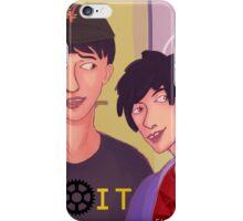 Nerd Lab selfie iPhone Case/Skin