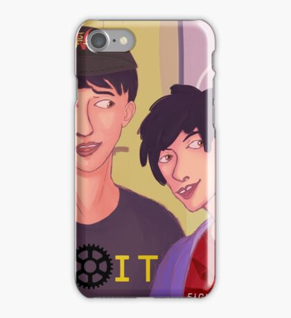 Nerd Lab selfie iPhone Case/Skin