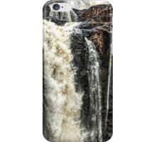 Iguazu Falls - in close iPhone Case/Skin