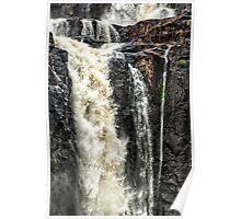 Iguazu Falls - in close Poster