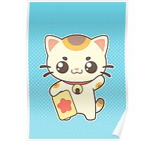 Lucky Cat Poster