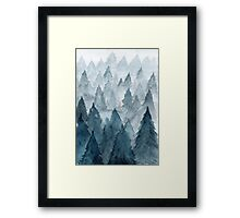 Clear Winter Framed Print