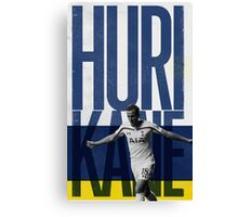 Harry Kane the Huri-Kane Canvas Print