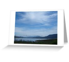 Clouds over Glenbawn Greeting Card