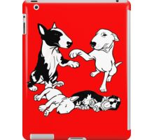 English Bull Terrier Family  iPad Case/Skin