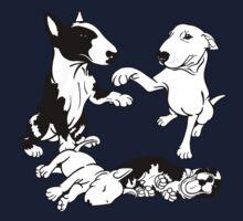 English Bull Terrier Family  Baby Tee