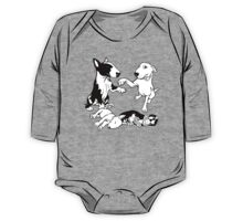 English Bull Terrier Family  One Piece - Long Sleeve