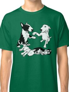 English Bull Terrier Family  Classic T-Shirt