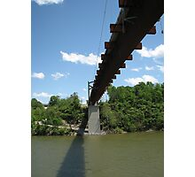 Pedestrian Bridge Over the Cumberland River Photographic Print