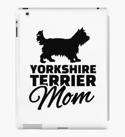 Yorkshire Mom iPad Case/Skin